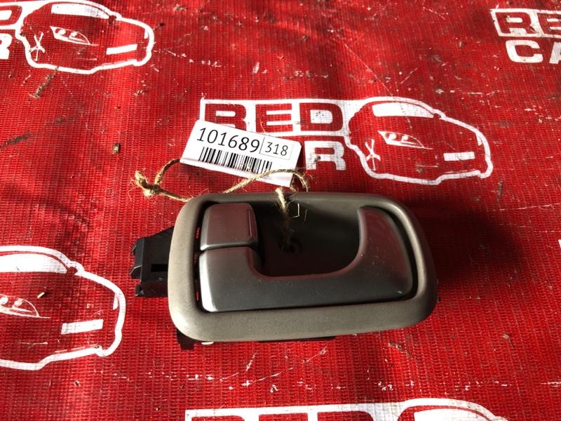 Ручка двери внутренняя Mitsubishi Dion CR6W-0006739 4G94-NC4831 2001 передняя левая (б/у)