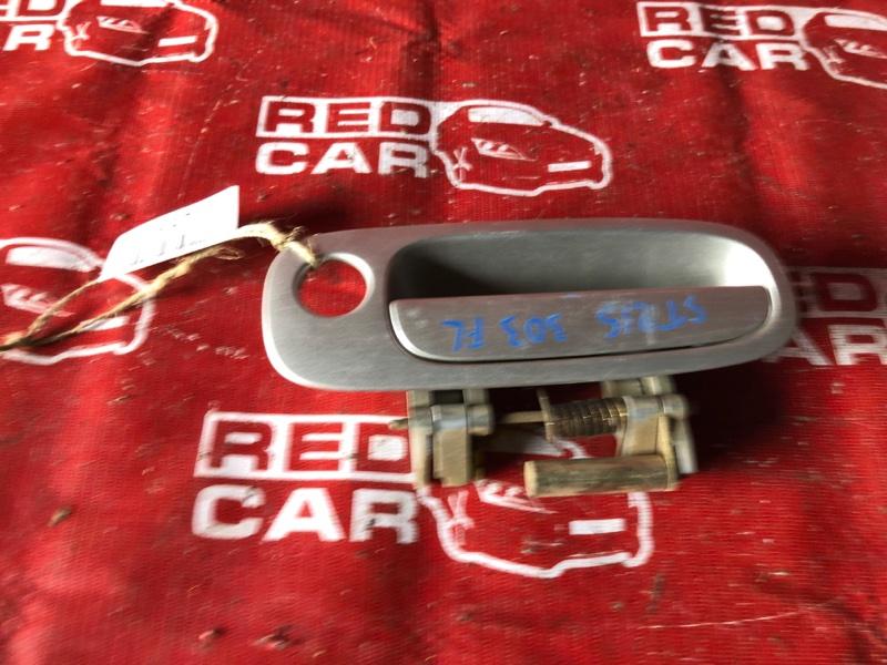 Ручка двери внешняя Toyota Caldina ST215-3058820 3S-2875162 2001 передняя левая (б/у)