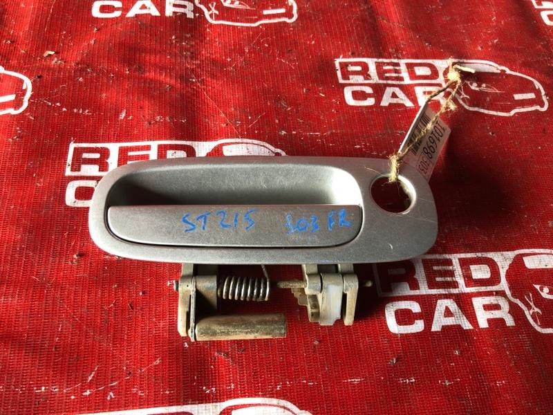 Ручка двери внешняя Toyota Caldina ST215-3058820 3S-2875162 2001 передняя правая (б/у)