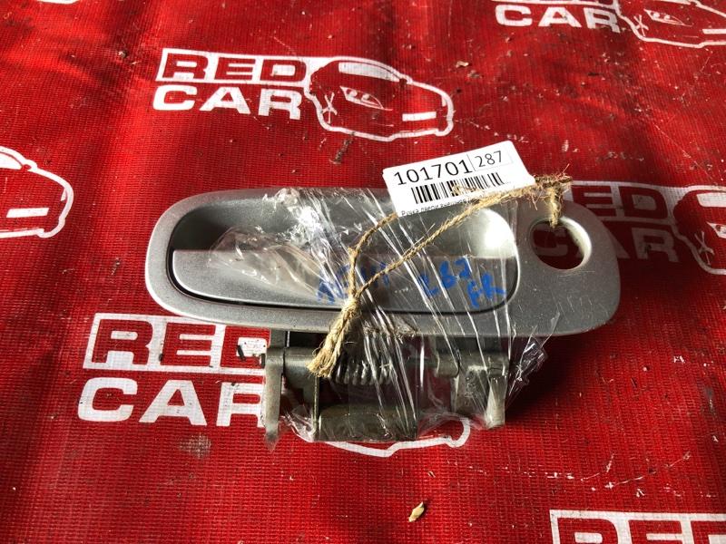 Ручка двери внешняя Toyota Corolla Spacio AE111-6133774 4A-H510752 1999 передняя правая (б/у)