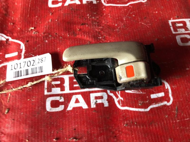 Ручка двери внутренняя Toyota Corolla Spacio AE111-6133774 4A-H510752 1999 передняя левая (б/у)