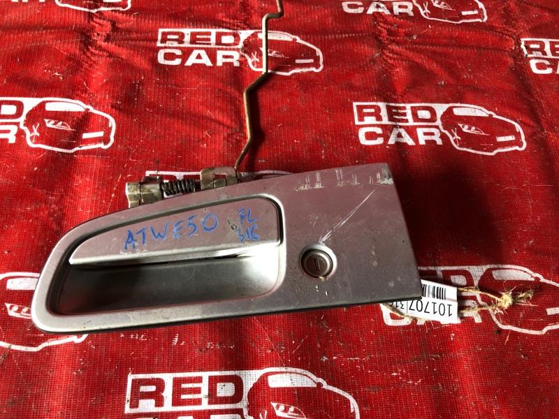 Ручка двери внешняя Nissan Elgrand ATWE50-008758 ZD30-032753A 2000 передняя левая (б/у)