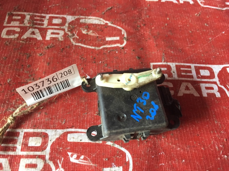 Сервопривод заслонок печки Nissan X-Trail NT30-155511 QR20-588664A 2000 (б/у)