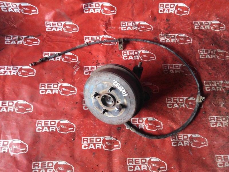 Ступица Toyota Spacio AE111-6046716 4A-M109351 1997 задняя левая (б/у)