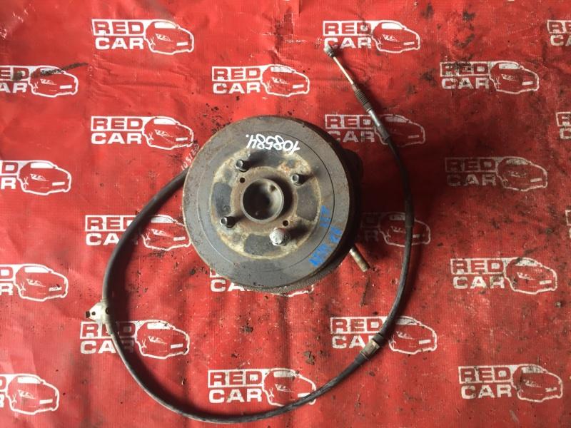 Ступица Toyota Spacio AE111-6046716 4A-M109351 1997 задняя правая (б/у)