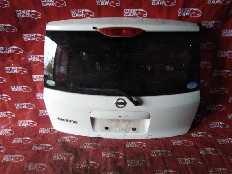 Дверь 5-я Nissan Note E11-259467 HR15-285427A 2007 (б/у)