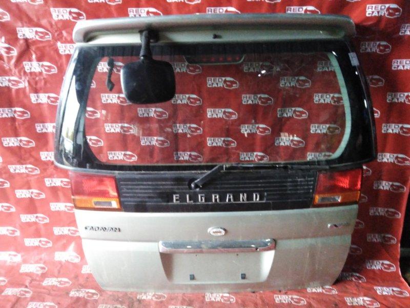 Дверь 5-я Nissan Elgrand AVWE50-006223 QD32-030179A 1997 (б/у)