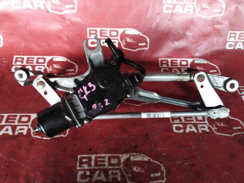 Мотор дворников Honda Fit GK3-1244304 L13B-1349753 2017 (б/у)