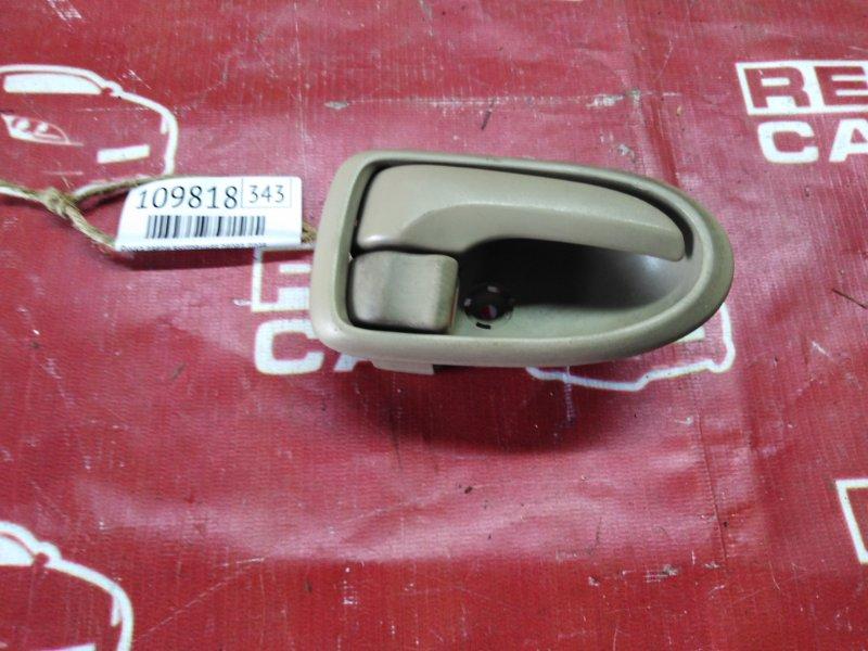 Ручка двери внутренняя Mazda Mpv LW3W-164881 L3-263143 2002 передняя правая (б/у)