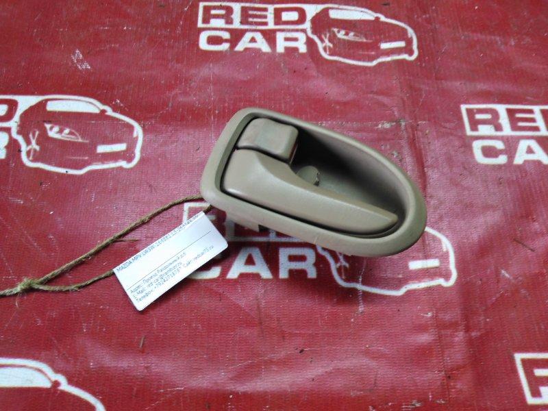 Ручка двери внутренняя Mazda Mpv LW3W-164881 L3-263143 2002 передняя левая (б/у)