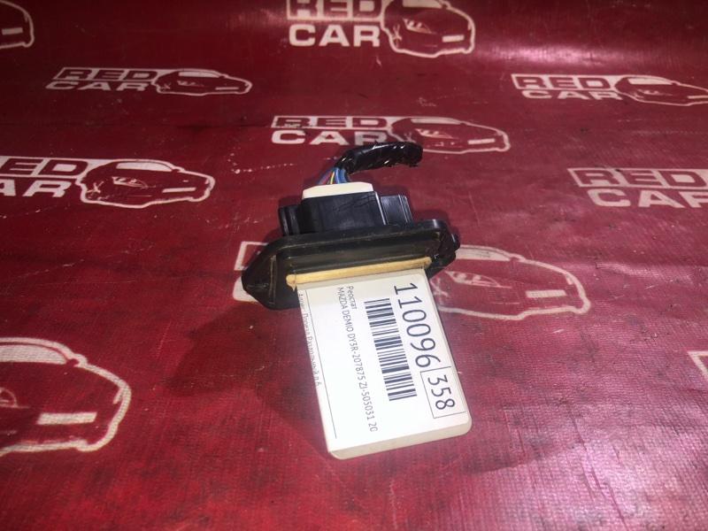Реостат Mazda Demio DY3R-207875 ZJ-505031 2007 (б/у)