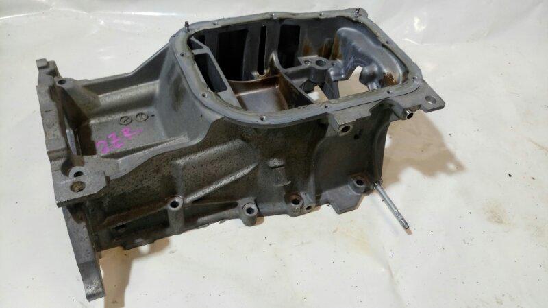 Поддон Toyota Corolla Axio ZRE142 2ZR-FE (б/у)
