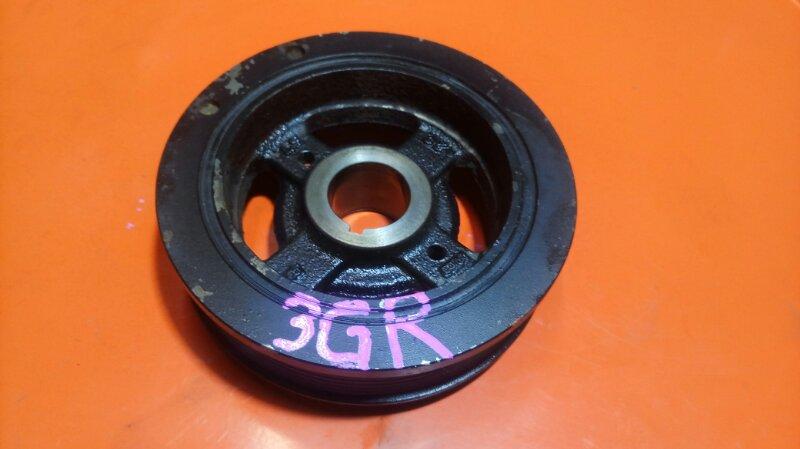 Шкив коленвала Lexus Gs300 GRS191 3GR-FSE (б/у)