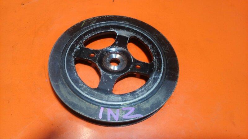 Шкив коленвала Toyota Fielder NZE121 1NZ-FE (б/у)