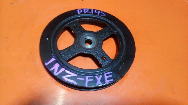 Шкив коленвала Toyota Prius NHW11 1NZ-FXE (б/у)