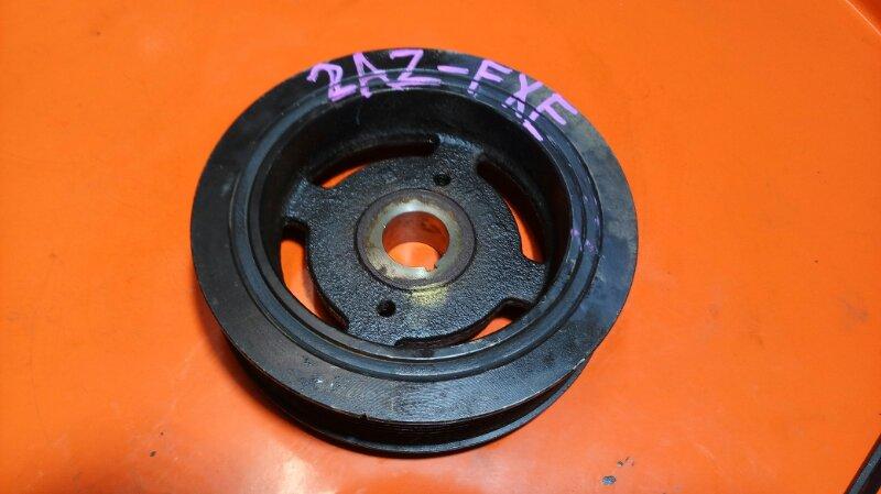 Шкив коленвала Toyota Estima AHR10 2AZ-FXE (б/у)