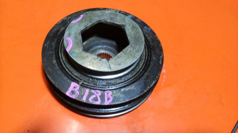 Шкив коленвала Honda Domani MA5 B18B (б/у)