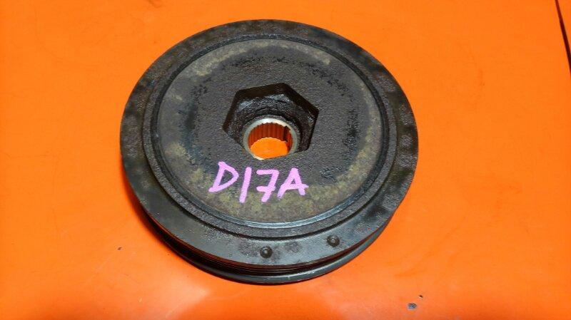 Шкив коленвала Honda Civic ES1 D17A (б/у)