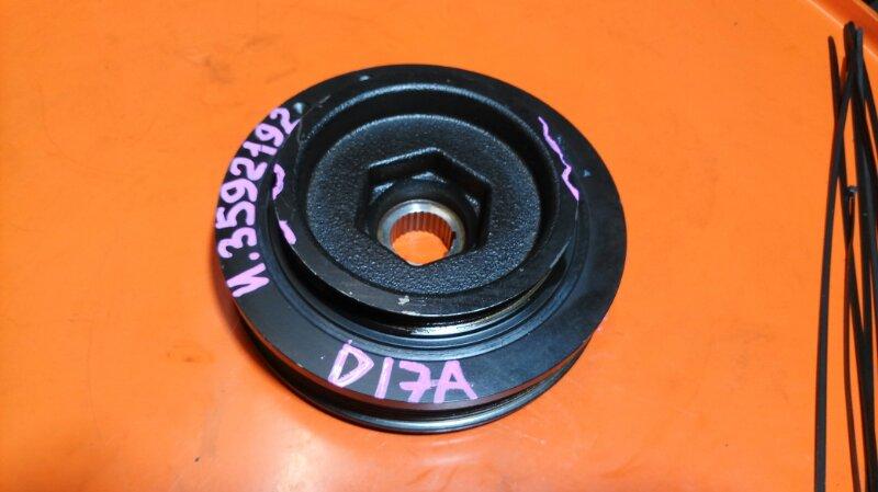 Шкив коленвала Honda Stream RN1 D17A (б/у)