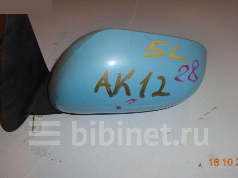 Зеркало боковое Nissan March AK12 левое (б/у)