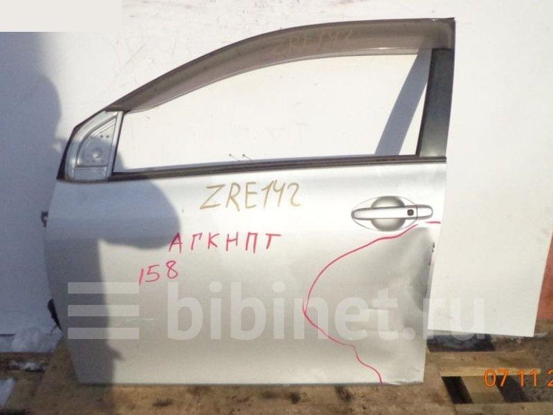 Дверь боковая Toyota Corolla Axio ZRE142 передняя левая (б/у)
