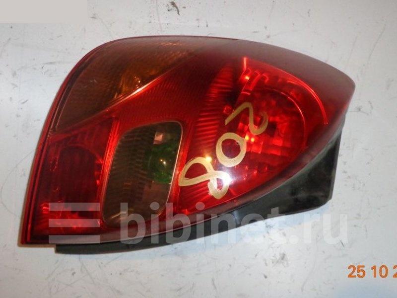 Фонарь стоп-сигнала Toyota Corolla Spacio ZZE122N левый (б/у)
