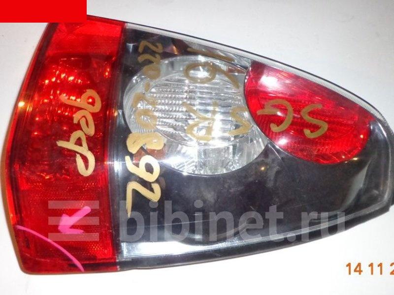 Фонарь стоп-сигнала Subaru Forester SG5 правый (б/у)