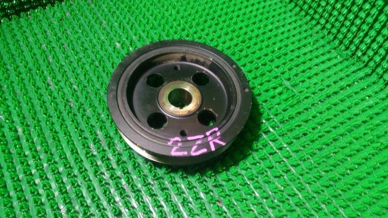 Шкив коленвала Toyota Corolla Fielder ZRE142G 2ZR-FE (б/у)