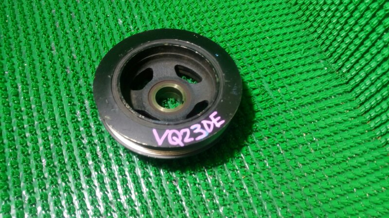 Шкив коленвала Nissan Teana PJ31 VQ23DE (б/у)