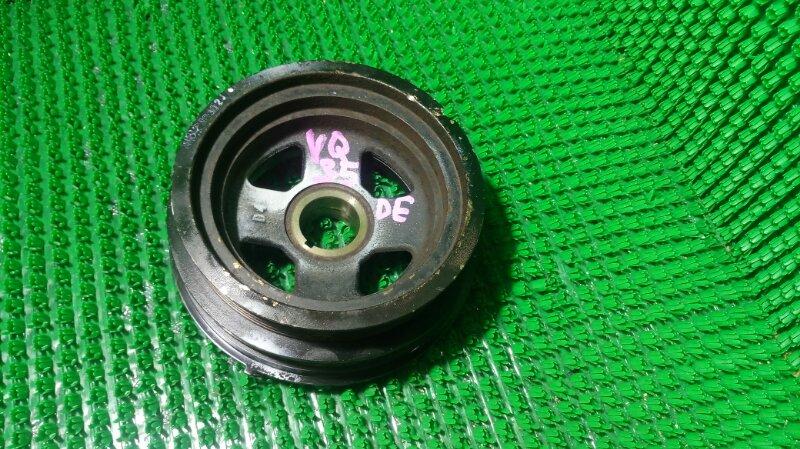 Шкив коленвала Nissan Elgrand APWE50 VQ35DE (б/у)