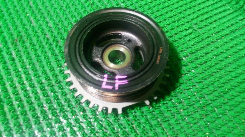 Шкив коленвала Mazda Axela BKEP LF-DE 1999 (б/у)