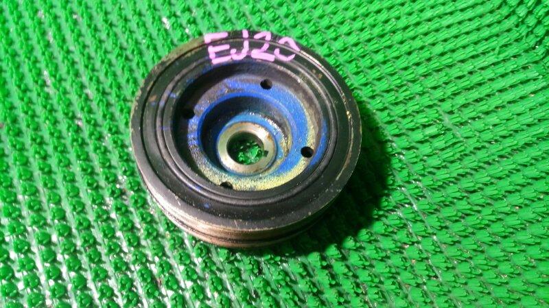 Шкив коленвала Subaru Forester SG5 EJ20 2006 (б/у)