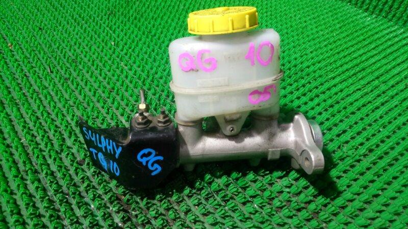 Главный тормозной цилиндр Nissan Bluebird QG10 QG18DE 2005 (б/у)