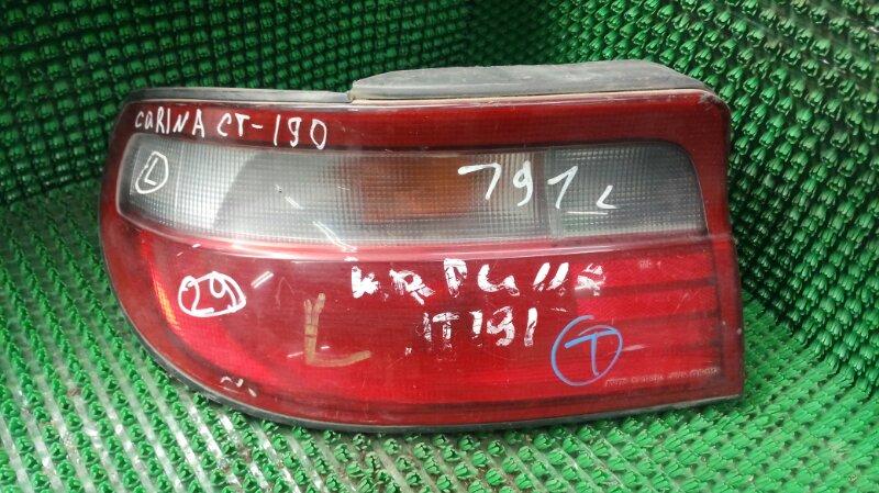 Фонарь стоп-сигнала Toyota Carina AT190 5A-FE задний левый (б/у)