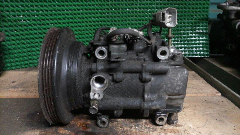 Компрессор кондиционера Toyota Starlet EP91 4E-FE 1998 (б/у)