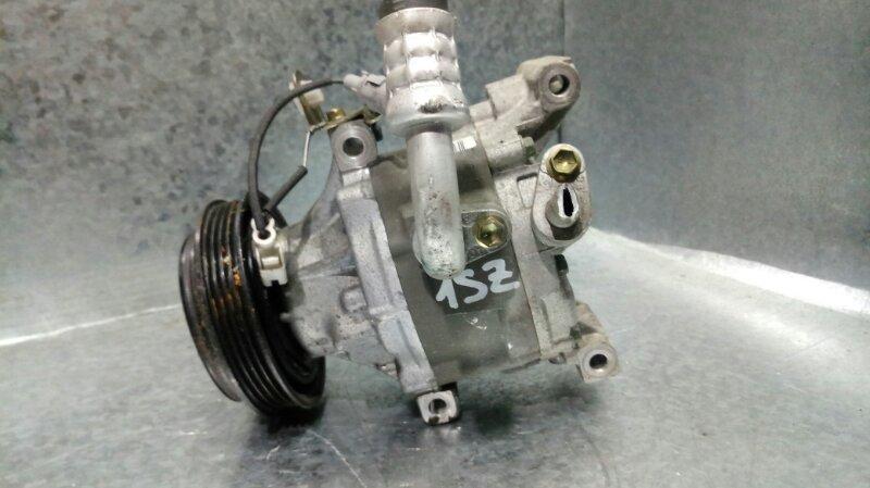 Компрессор кондиционера Toyota Platz SCP11 1SZ-FE (б/у)