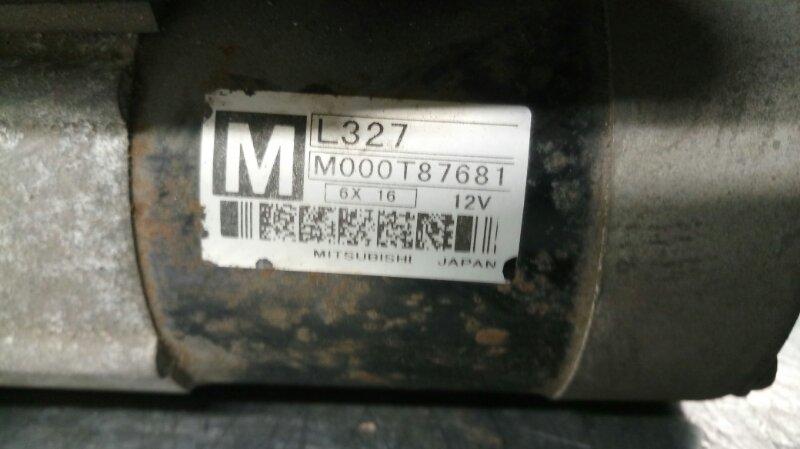 Стартер Mazda Premacy BK LF-DE 2007 (б/у)