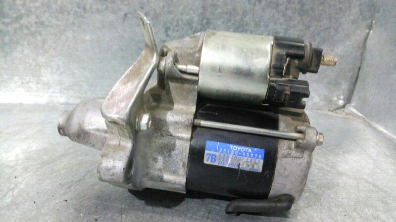 Стартер Toyota Passo KGC10 1KR-FE (б/у)