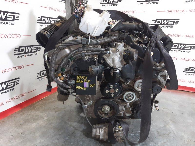 Двигатель Lexus Gs350 GRS191 2GR-FSE (б/у)