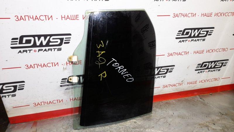 Стекло боковое Honda Torneo CF3 F20B 2002 заднее правое (б/у)