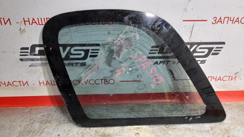 Стекло собачника Toyota Corolla Spacio AE111G 7A-FE заднее правое (б/у)