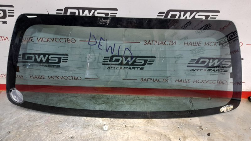 Стекло заднее Mazda Demio DW3W B3E (б/у)