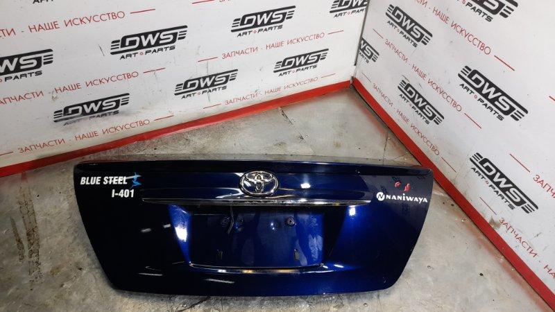Крышка багажника Toyota Corolla Axio ZRE142 2ZR-FE 2008 (б/у)