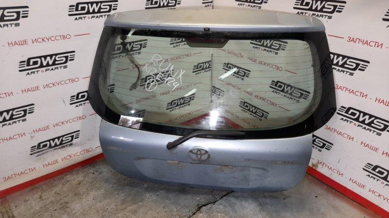 Дверь задняя багажника Toyota Corolla Runx NZE121G 1NZ-FE 2006 (б/у)