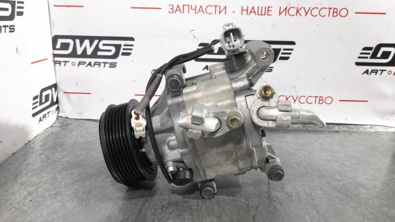 Компрессор кондиционера Toyota Will Vs ZZE127 1ZZ-FE 2005 (б/у)