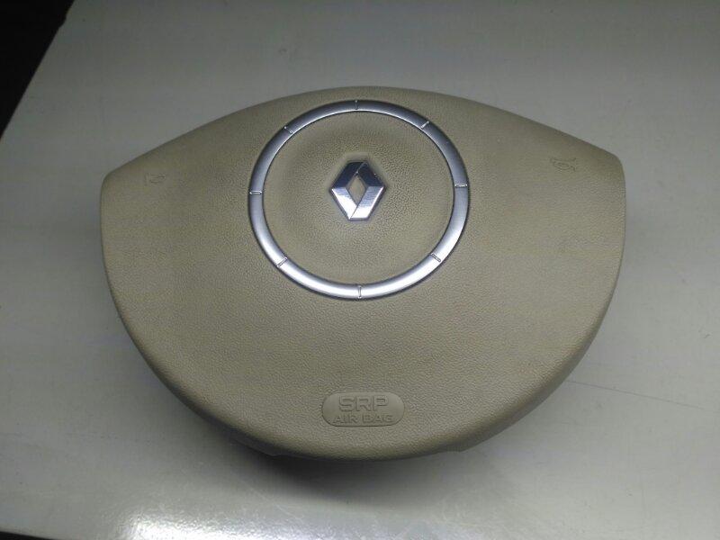 Подушка безопасности в руль Renault Scenic 2 JM К4М858 2007 (б/у)