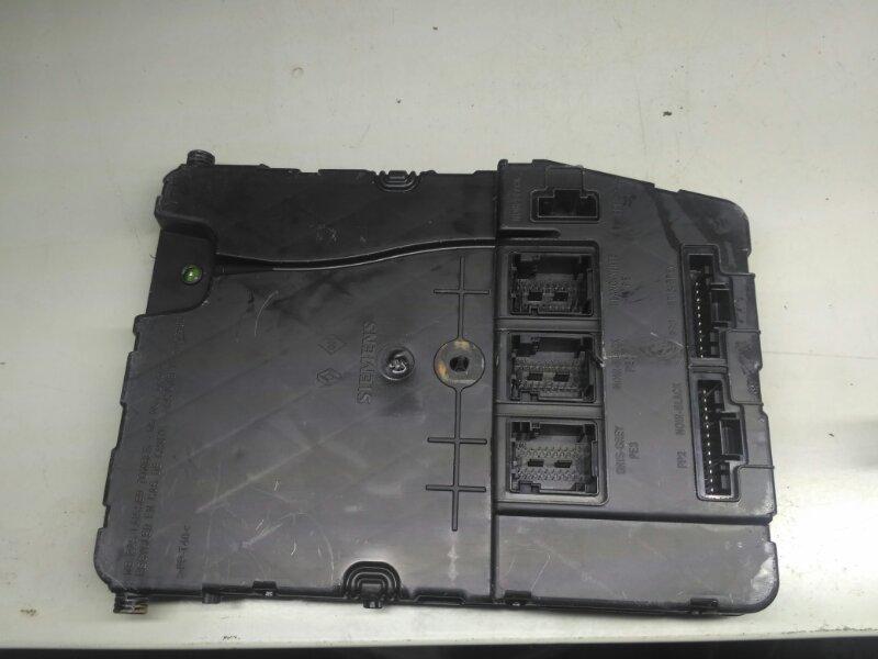 Блок комфорта Renault Scenic 2 JM К4М858 2007 (б/у)