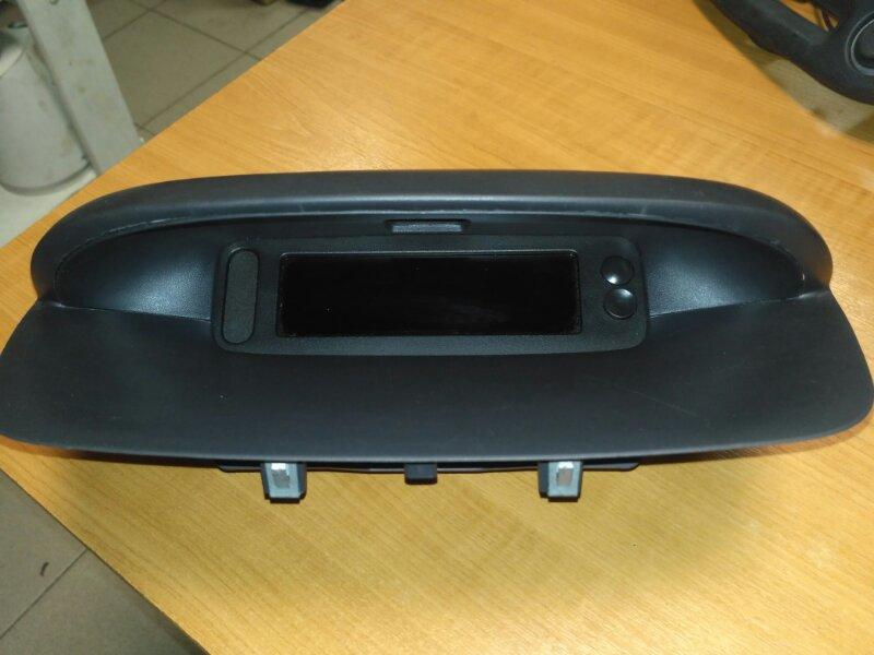 Дисплей информационный Renault Megane 3 EZ0/1 K9K834 2011 (б/у)