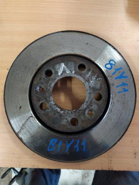 Тормозной диск Renault Megane 3 EZ0/1 K9K834 2011 передний левый (б/у)