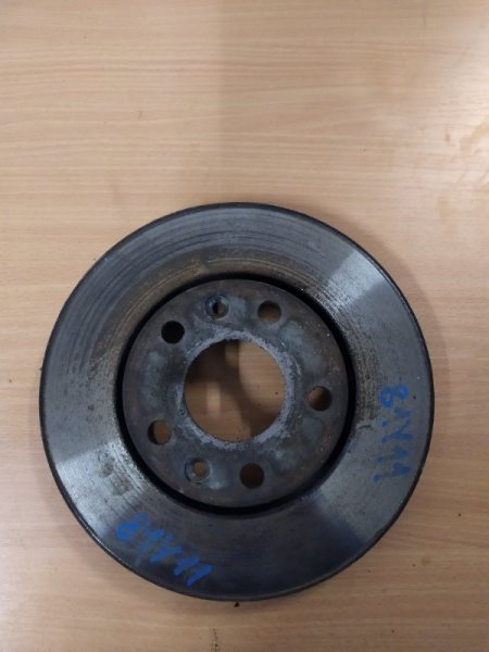 Тормозной диск Renault Megane 3 EZ0/1 K9K834 2011 передний правый (б/у)